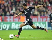 FUSSBALL   CHAMPIONS LEAGUE   SAISON 2012/2013   GRUPPENPHASE   FC Bayern Muenchen - LOSC Lille                          07.11.2012 Claudio Pizarro (FC Bayern Muenchen)