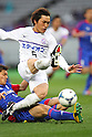Toshihiro Aoyama (Sanfrecce), .MARCH 31, 2012 - Football /Soccer : .2012 J.LEAGUE Division 1 .between F.C. Tokyo 0-1 Sanfrecce Hiroshima .at Ajinomoto Stadium, Tokyo, Japan. .(Photo by YUTAKA/AFLO SPORT) [1040]