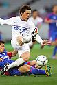 Toshihiro Aoyama (Sanfrecce), .MARCH 31, 2012 - Football /Soccer : .2012 J.LEAGUE Division 1 .between F.C. Tokyo 0-1 Sanfrecce Hiroshima .at Ajinomoto Stadium, Tokyo, Japan. .(Photo by YUTAKA/AFLO SPORT) [1040]