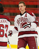 Alex Fallstrom (Harvard - 16) - The visiting University of Massachusetts Lowell River Hawks defeated the Harvard University Crimson 5-0 on Monday, December 10, 2012, at Bright Hockey Center in Cambridge, Massachusetts.