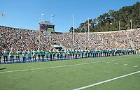 Team Jill. The University of California Berkeley Golden Bears defeated the UC Davis Aggies 52-3 in their home opener at Memorial Stadium in Berkeley, California on September 4th, 2010.