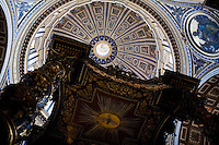 Saint Peter's Cathedral Basilica and the Vatican, Rome, Italy, Europe, 2007, ©Stephen Blake Farrington