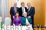 Keeping it in the family the Moriarty family from Killelan, Cahersiveen, members of the Pioneers Total Abstinence Association front l-r; Mary Moran, Noreen Moriarty, back l-r; Neillie , Batt & Denis Moriarty.