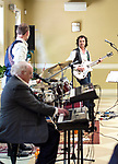 """Woodbury, CT- 21  May 2017-052117CM09-  The Rivera Quintet plays for an audience at the Woodbury Senior Center on Sunday. Known for their hits including """"California Sun"""", """"Detroit City"""" and """"Messin with the Kid"""" the group played rock and pop music from the '50's and '60's. Christopher Massa Republican-American"""