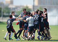 Frisco - Texas, Friday, June 29, 2012: U15/16 Development Academy Play-offs.