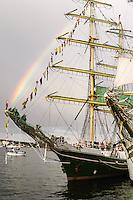 Sweden, Stockholm. Tall Ships Race Stockholm 2007. Alexander von Humboldt.