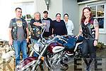 Enjoying the Motorbike Festival Fun Day at the Meadowlands Hotel on Saturday were Stephen Whelan, Michael Kirby, Trevor Fox, Berni Moriarty, Catherine Sinnott, Sinead Fox, Tralee