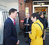 Caroline Pidgeon, Liberal Democrat Mayoral candidate campaigning with former Liberal Democrat Leader and Deputy Prime Minister Nick Clegg MP at Putney railway station, London, Great Britain <br /> <br /> 4th May 2016 <br /> <br /> <br /> <br /> <br /> <br /> Photograph by Elliott Franks <br /> Image licensed to Elliott Franks Photography Services