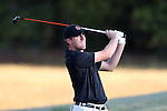 30 October 2016: NC State University's Chad Cox. The First  and Second Rounds of the 2016 Bridgestone Golf Collegiate NCAA Men's Golf Tournament hosted by the University of North Carolina Greensboro Spartans was held on the West Course at the Grandover Resort in Greensboro, North Carolina.