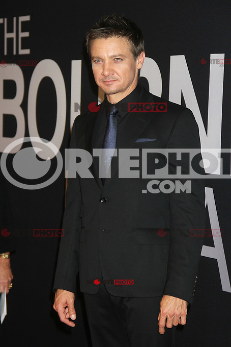 NEW YORK, NY - JULY 30:  Jeremy Renner at 'The Bourne Legacy' New York Premiere at Ziegfeld Theater on July 30, 2012 in New York City. &copy;&nbsp;RW/MediaPunch inc. *NortePhoto.com<br />