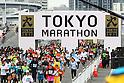 General view of Tokyo Marathon, .February 26, 2012 - Marathon : .Tokyo Marathon 2012 .at Tokyo Big Sight, Tokyo, Japan. .(Photo by Daiju Kitamura/AFLO SPORT) [1045]