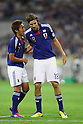 (L to R) Hiroshi Kiyotake (JPN), Mike Havenaar (JPN), SEPTEMBER 2, 2011 - Football / Soccer : FIFA World Cup Brazil 2014 Asian Qualifier Third Round Group C match between Japan 1-0 North Korea at Saitama Stadium 2002, Saitama, Japan. (Photo by YUTAKA/AFLO SPORT) [1040]