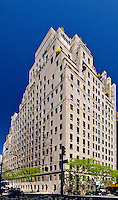 740 Park Avenue is a luxury apartment building, home to many wealthy and famous resident, Manhattan, New York City, New York, USA,designed by Rosario Candela & Arthur Loomis Harmon
