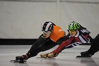 SCHAATSEN: HEERENVEEN: 31-01-2014, IJsstadion Thialf, Training Topsport, Sjinkie Knegt, ©foto Martin de Jong