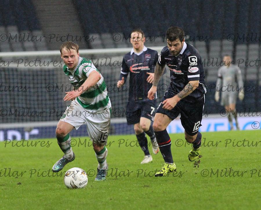 Ross County v Celtic Scottish League Cup semi final 310116