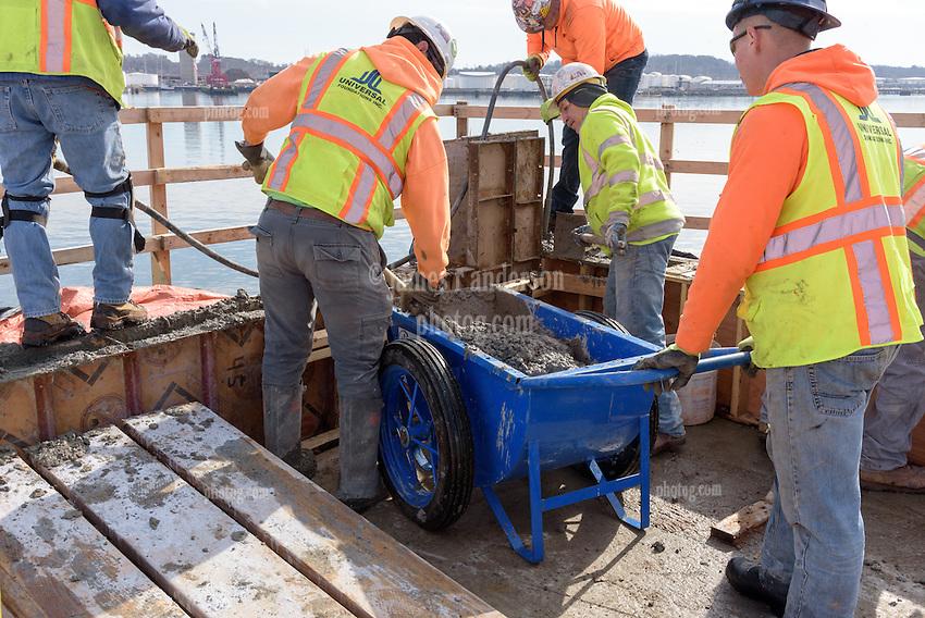Boathouse at Canal Dock Phase II | State Project #92-570/92-674 Construction Progress Photo Documentation No. 08 on 21 February 2017. Image No. 11