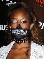 HOLLYWOOD, LOS ANGELES, CA, USA - OCTOBER 30: Keenyah Hill arrives at the Los Angeles Premiere Of RADiUS-TWC's 'Horns' held at ArcLight Hollywood on October 30, 2014 in Hollywood, Los Angeles, California, United States. (Photo by Celebrity Monitor)