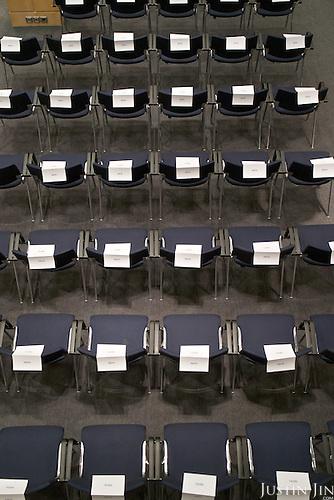 Inside the EU Parliament.