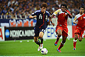 Hiroshi Kiyotake (JPN), Ahmed Mubarak (OMA),.JUNE 3, 2012 - Football / Soccer :.2014 FIFA World Cup Asian Qualifiers Final round Group B match between Japan 3-0 Oman at Saitama Stadium 2002 in Saitama, Japan. (Photo by Takamoto Tokuhara/AFLO)