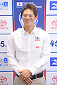 Makoto Tomizawa (JPN), MAY 24, 2012 - Sailing : during the Press Conference for the Japanese sailing team of London Oiympic Games, at Ajinomoto National Training Center, Tokyo, Japan. .(Photo by Atsushi Tomura/AFLO SPORT) [1035]