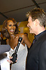 Iman and David Bowie..at the 2005 CFDA Fashion Awards on June 6, 2005 at ..the New York Public Library. ..Photo by Robin Platzer, Twin Images