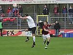 Sandhausen 19.04.2008, Tim Bauer (SV Sandhausen) und Andreas Buchner (Ingolstadt) in der Regionalliga S&uuml;d 2007/08 SV Sandhausen 1916 - FC Ingolstadt 04<br /> <br /> Foto &copy; Rhein-Neckar-Picture *** Foto ist honorarpflichtig! *** Auf Anfrage in h&ouml;herer Qualit&auml;t/Aufl&ouml;sung. Belegexemplar erbeten.