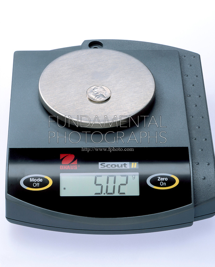 NICKEL ON A BALANCE<br />