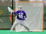 10 April 2007: Holy Cross Crusaders' Jimmy Harrison, a Sophomore from East Williston, NY, in action against the University of Vermont Catamounts at Moulton Winder Field, in Burlington, Vermont. The Crusaders rallied to defeat the Catamounts 5-4...Mandatory Photo Credit: Ed Wolfstein Photo