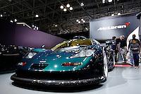 A McLaren car is seen while people attend the International Auto Show 2015 in New York. 04.06.2015. Eduardo MunozAlvarez/VIEWpress.