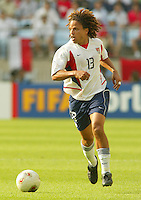Cobi Jones looks to cross the ball. The USA defeated Mexico 2-0 in the Round of 16 of the FIFA World Cup 2002 in South Korea on June 17, 2002.