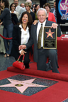 ©2003 KATHY HUTCHINS / HUTCHINS PHOTO.ANTHONY HOPKINS RECEIVES HIS STAR ON THE .HOLLYWOOD WALK OF FAME.SEPTEMBER 24, 2003..ANTHONY HOPKINS.WIFE