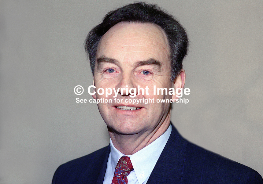 Michael Woods, TD, Minister for the Marine, Fianna Fail, Rep of Ireland, 19921075MW.<br />