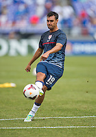 Chris Wondolowski.  The United States defeated El Salvador, 5-1, during the quarterfinals of the CONCACAF Gold Cup at M&T Bank Stadium in Baltimore, MD.