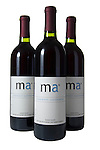 Market America Wine Bottles High Key
