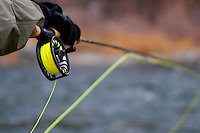 Fly fisherman rod and reel