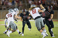 STANFORD, CA - October 8, 2016: Dallas Lloyd at Stanford Stadium. The Washington State Cougars defeated the Cardinal 42-16.