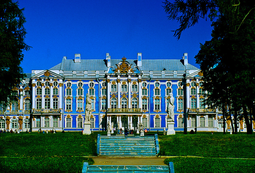 Catherine palace pushkin 16 miles south of st petersburg russia