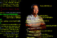 Photography of Lawrence Teo, VP of Development at Calyptix Security at their Charlotte North Carolina offices...Photo by PatrickSchneiderPhoto.com