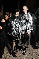 FEB 23 ANGEL CHEN backstage at Milan Fashion Week