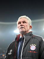 FUSSBALL   CHAMPIONS LEAGUE   SAISON 2011/2012   ACHTELFINALE RUECKSPIEL     13.03.2012 FC Bayern Muenchen - FC Basel        Trainer Jupp Heynckes  (FC Bayern Muenchen)