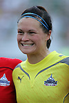 20 June 2009: Erin McLeod (18) of the Washington Freedom.  Saint Louis Athletica were defeated by the visiting Washington Freedom  0-1 in a regular season Women's Professional Soccer game at AB Soccer Park, in Fenton, MO.
