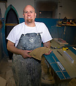 PE00058-00...WASHINGTON - Steve De Koch surfboard builder at Hemel Boards in Seattle. (MR D11)