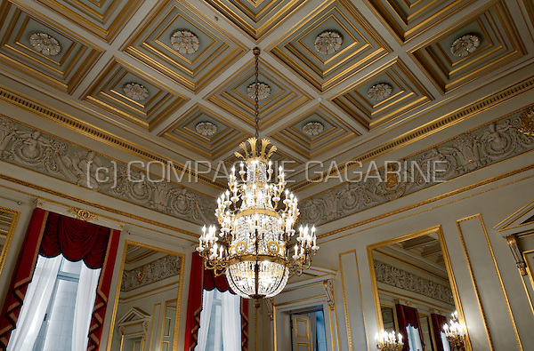 Interior of the royal palace of brussels belgium 26 08 for Interieur belgium