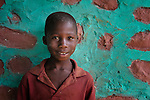 A boy in Despagne, an isolated village in southern Haiti where the Lutheran World Federation has been working with residents to improve their quality of life.