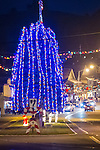 Christmas lights, Main St., Sutter Creek, Calif