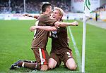 Fussball, 2. Bundesliga 2009/10: St Pauli steigt bei Greuther Fuerth in die 1. Bundesliga auf