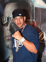 Puerto Rican rap music player Daddy Yankee poses during a photo session with media during a press conference, April 02, 2006. Daddy Yankee is promoting his new album Barrio Fino en Directo in Mexico. Photo by Javier Rodriguez