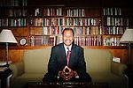 Portrait: Morehouse President  John S. Wilson Jr.