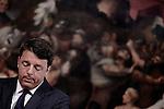 Matteo Renzi a Palazzo Chigi sul terremoto in centro Italia