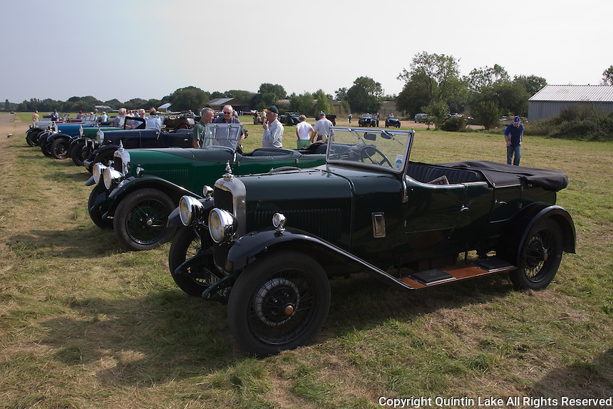 Alvis 12/50 Register 60th Anniversary Celebration, Event, 21st September 2008, Spanhoe Airfield, Rutland, England